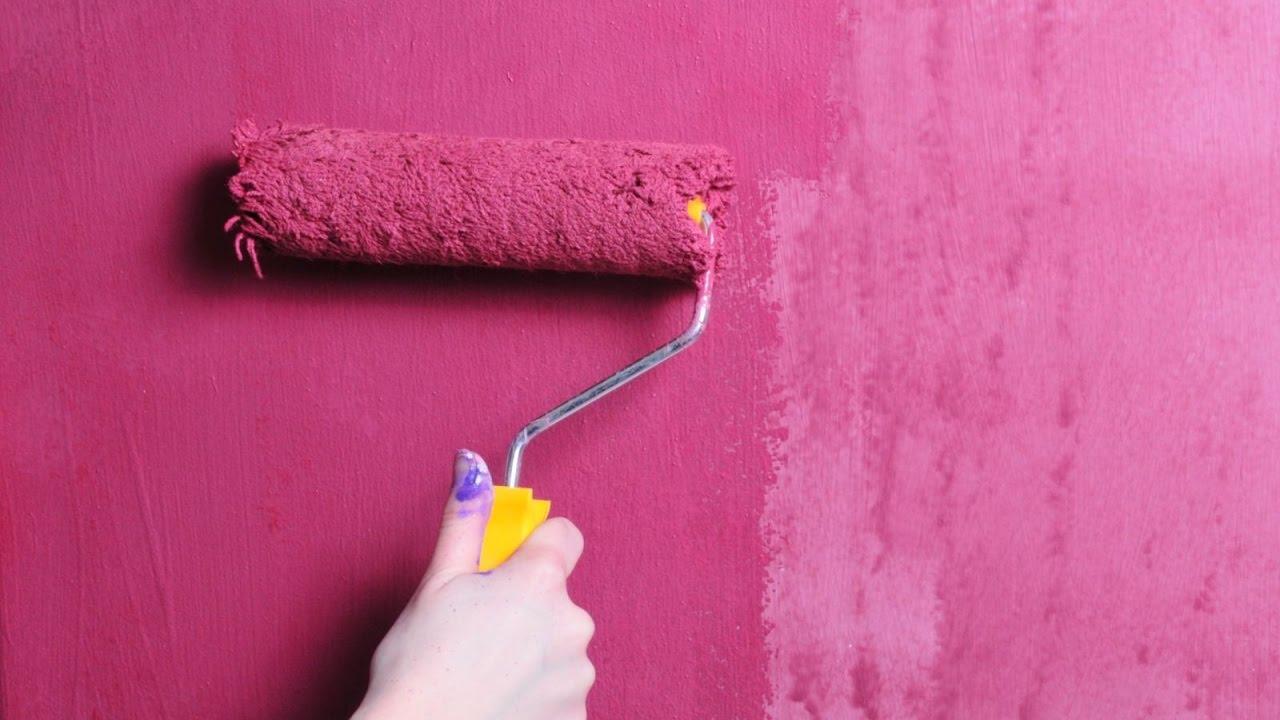 Технология нанесения красок на стены в ванной комнате