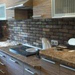 Кухня в хрущевке отделка гибким камнем