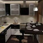 Кухня в хрущевке идеи освещения