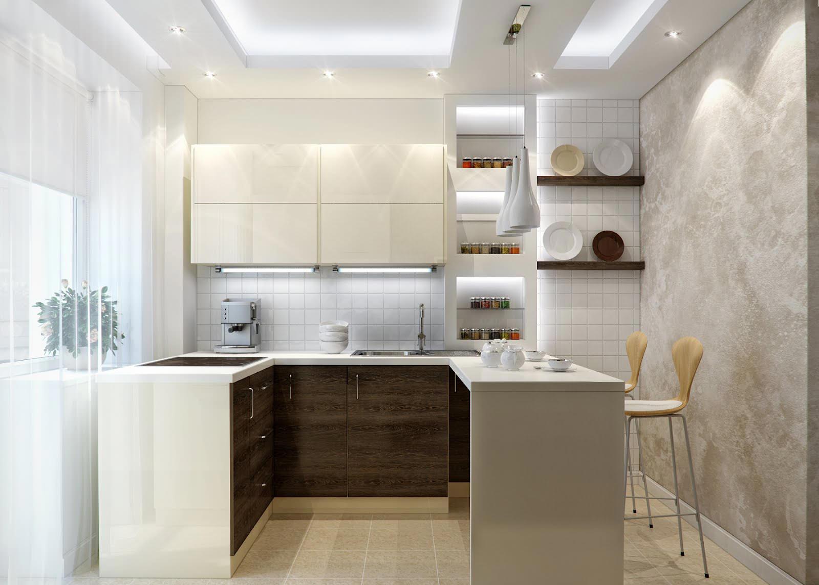 Кухня в хрущевке освещение идеи