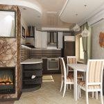Кухня в хрущевке как совместить с гостиной
