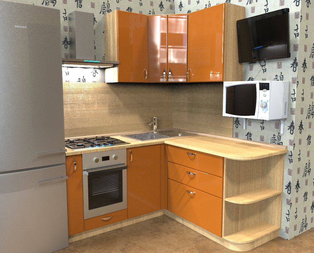 Угловые кухни в хрущевку картинки