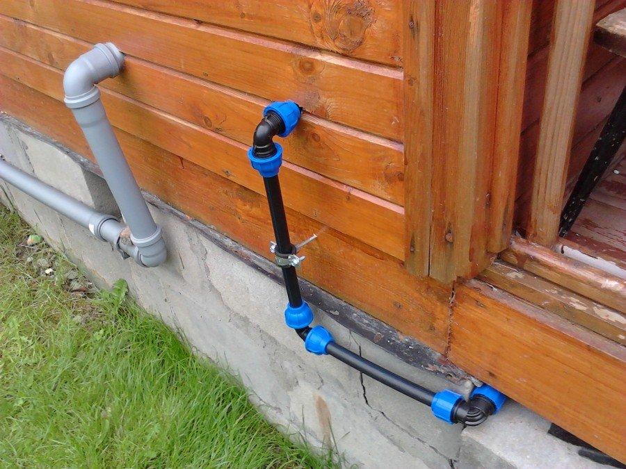 Водопровод в летней кухне