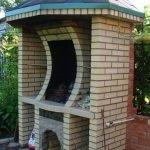 Крыша над мангалом
