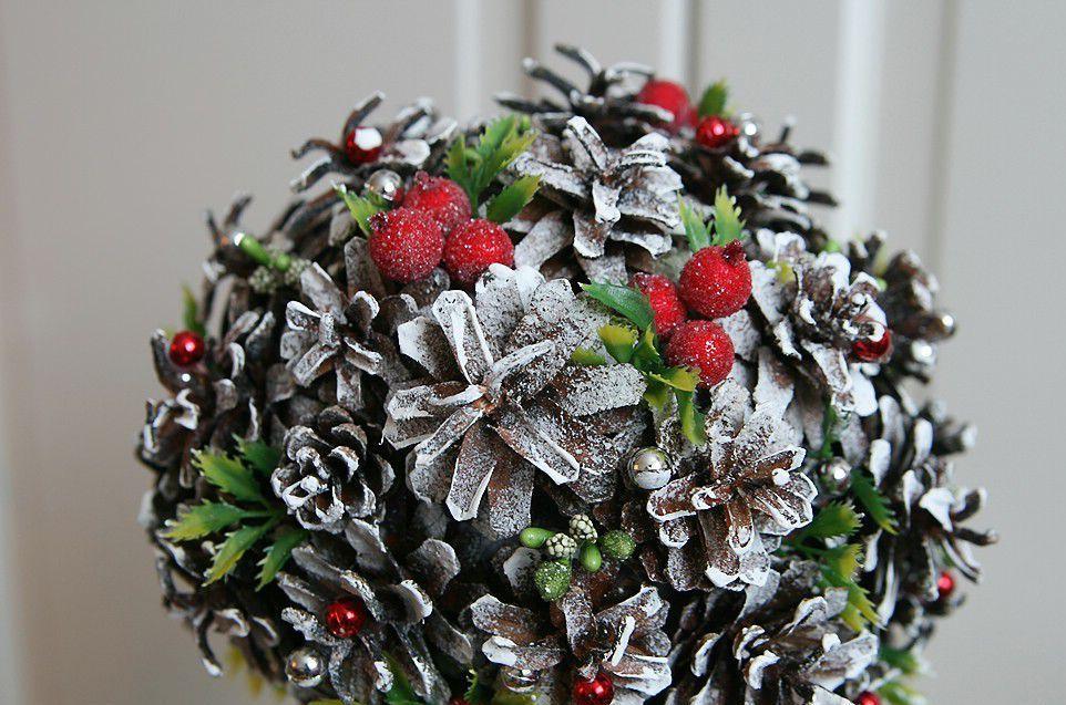 Крона новогоднего топиария