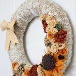 Декорирован нитками