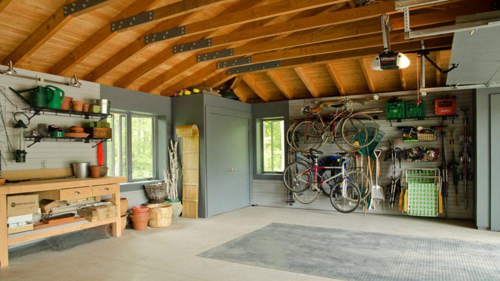Варианты обустройства гаража