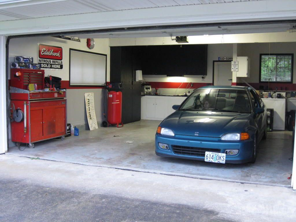 Варианты покрытия пола в гараже