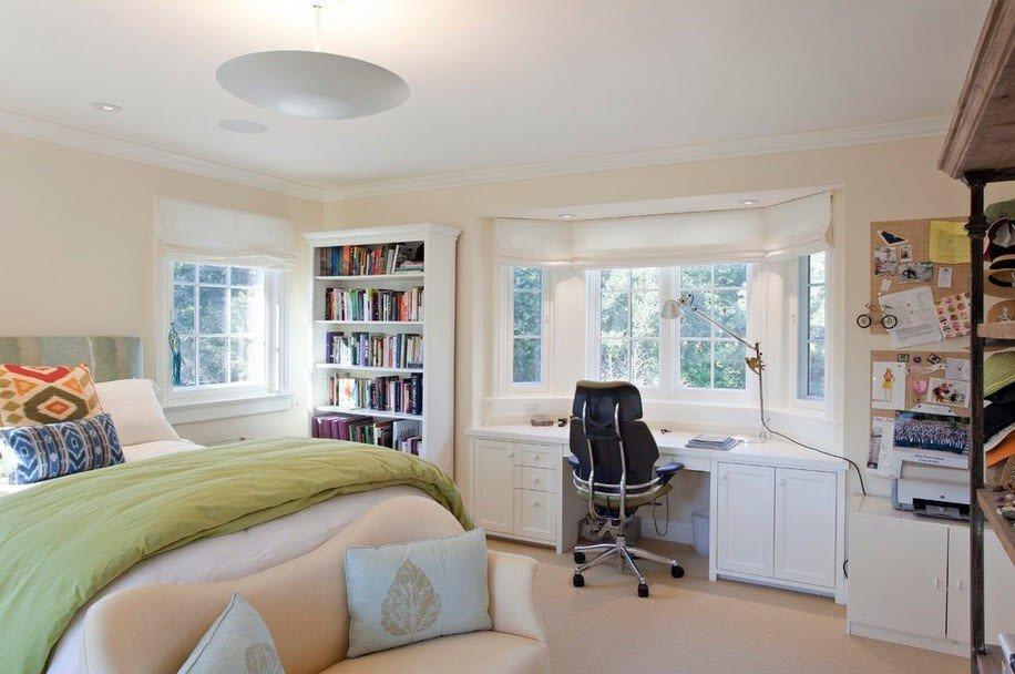 Организация пространства спальни