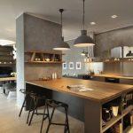 Люстры на кухне