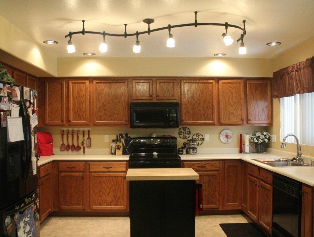 Направленные светильники для кухни