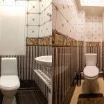 Отделка стен туалета ПВХ идеи
