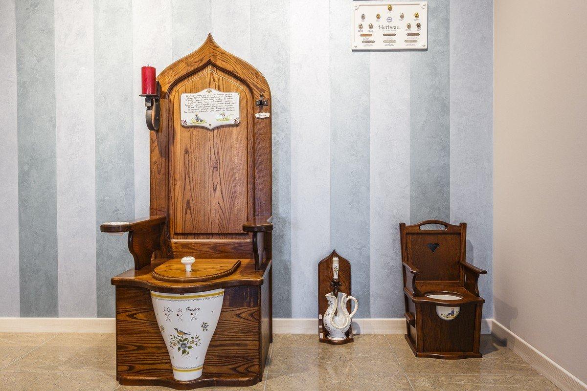 Отделка туалета эко стиль