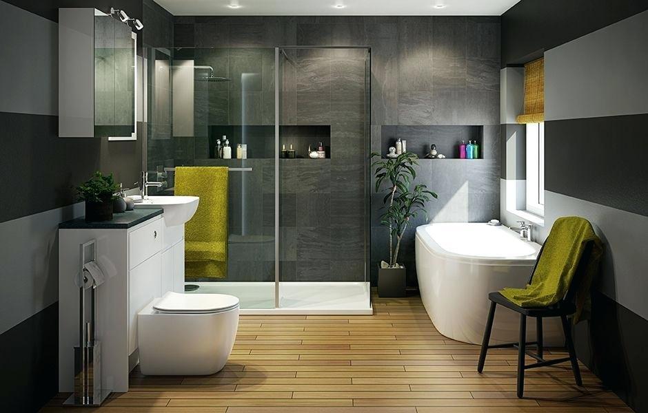 Душевая кабина и ванна