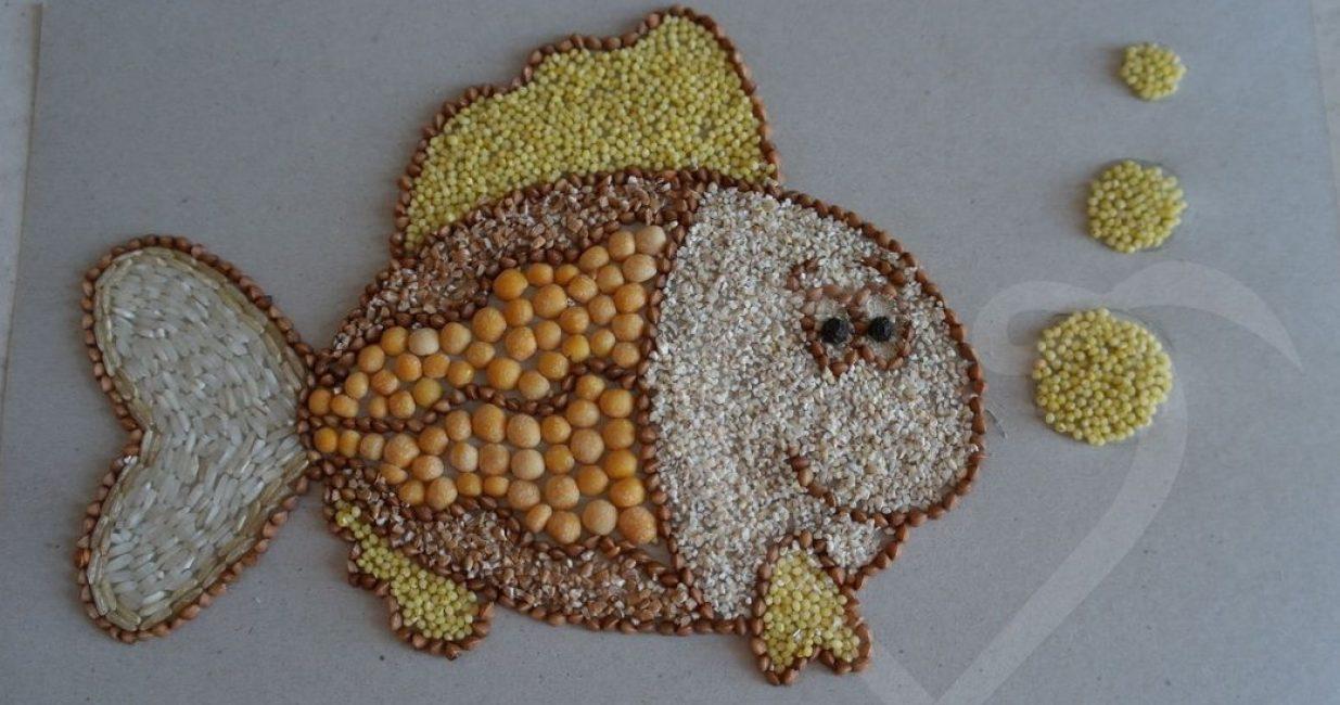Творчество из семян