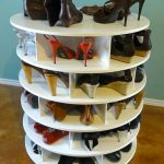 Вращающаяся тумба для обуви