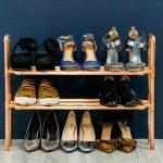 Полка для обуви из реек