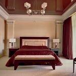 Эскиз потолка в спальне