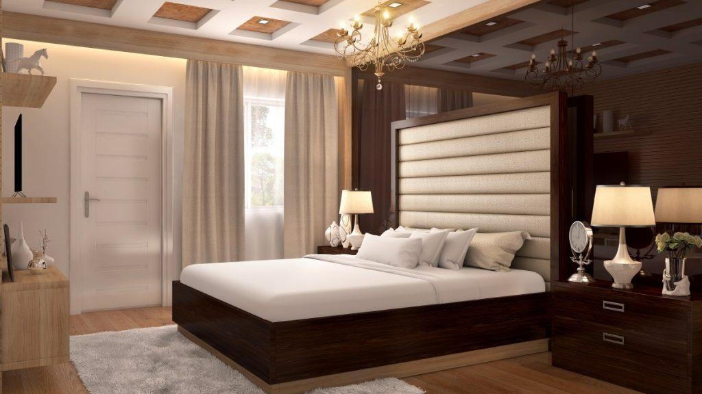 Размеры двухспальной кровати