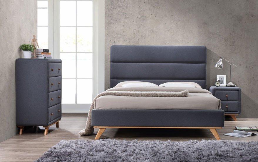 Кровать с одной опорной стенкой