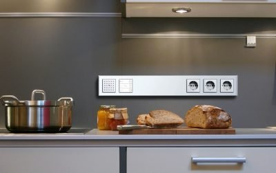 Размещение и установка розеток на кухне