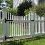 Ограда вокруг дома