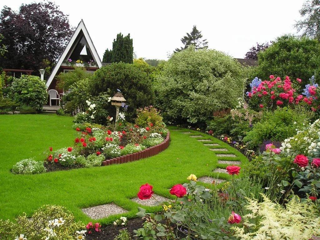 Картинки дизайн садового участка своими руками домашний мармелад
