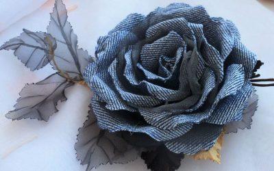 Цветы из ткани своими руками для начинающих