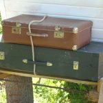 На площадку ложим чемоданы