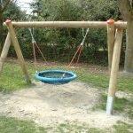 Подвесные качели для детской площадки