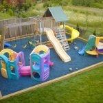 Необходимая площадь для детской площадки