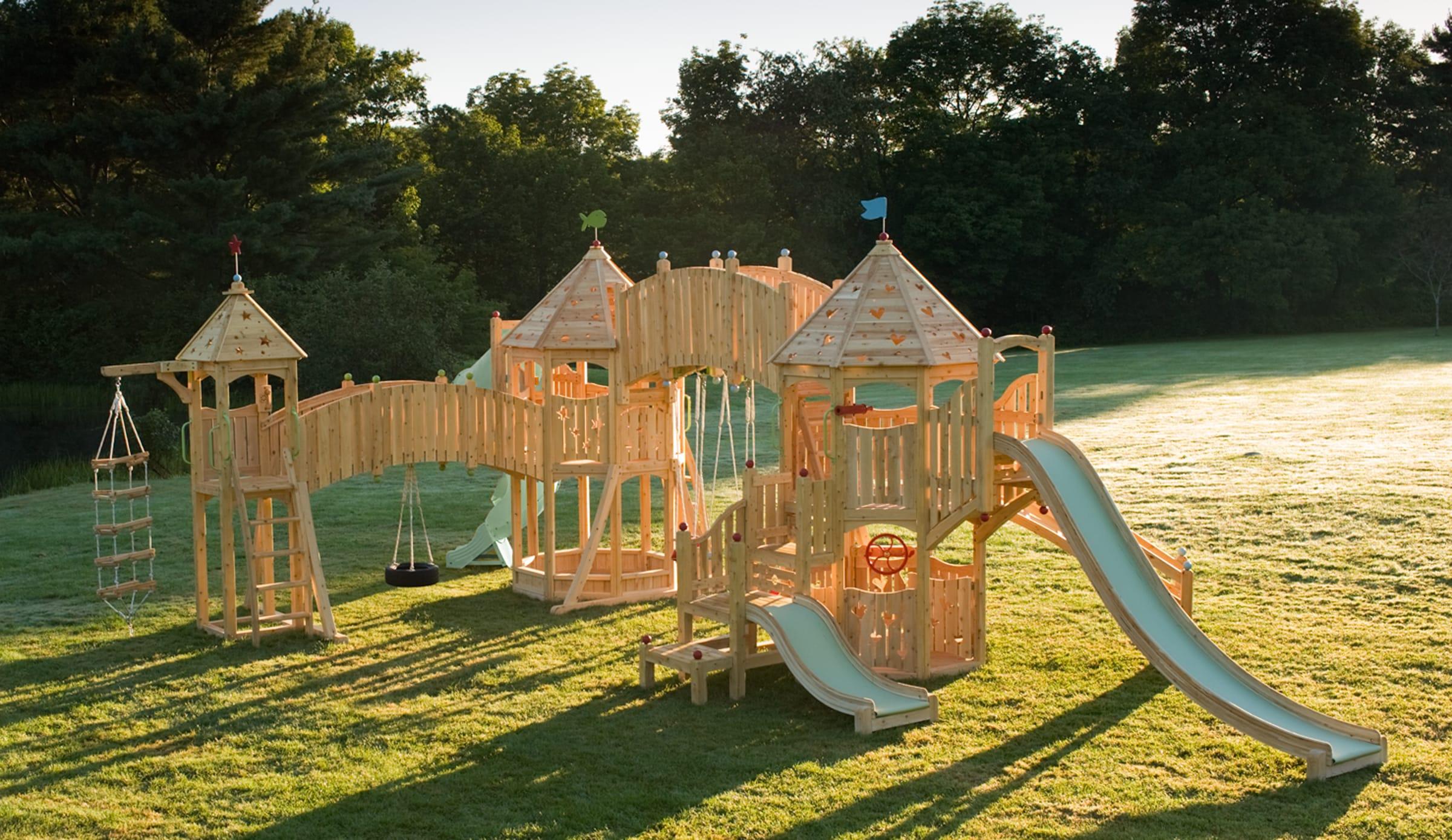 Игровая площадка для дошкольников