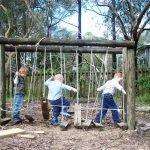 Игровая площадка для детей на даче своими руками