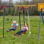 Детская площадка из пластика