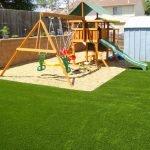 Покрытие из песка для детской площадки