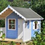 Голубой домик