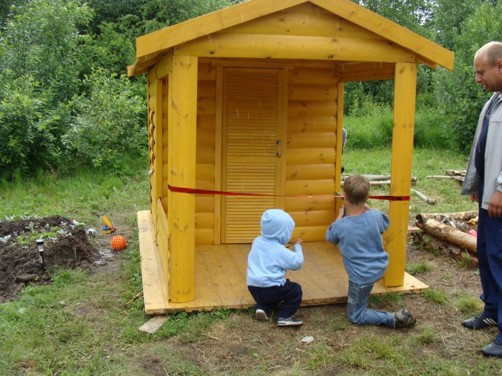 Строим вместе с детьми