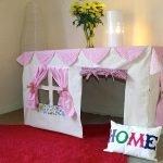 Домик для девочки под столом