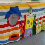 Полосатый шалаш для ребенка