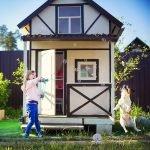 Двухэтажный дом для ребенка