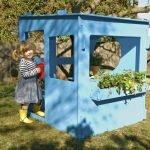 голубой домик для девочки