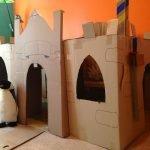 Крепость из картона