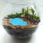 Флорариум с озером