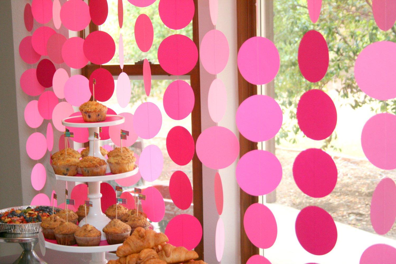 Идеи для декора комнаты девочки на день рождения