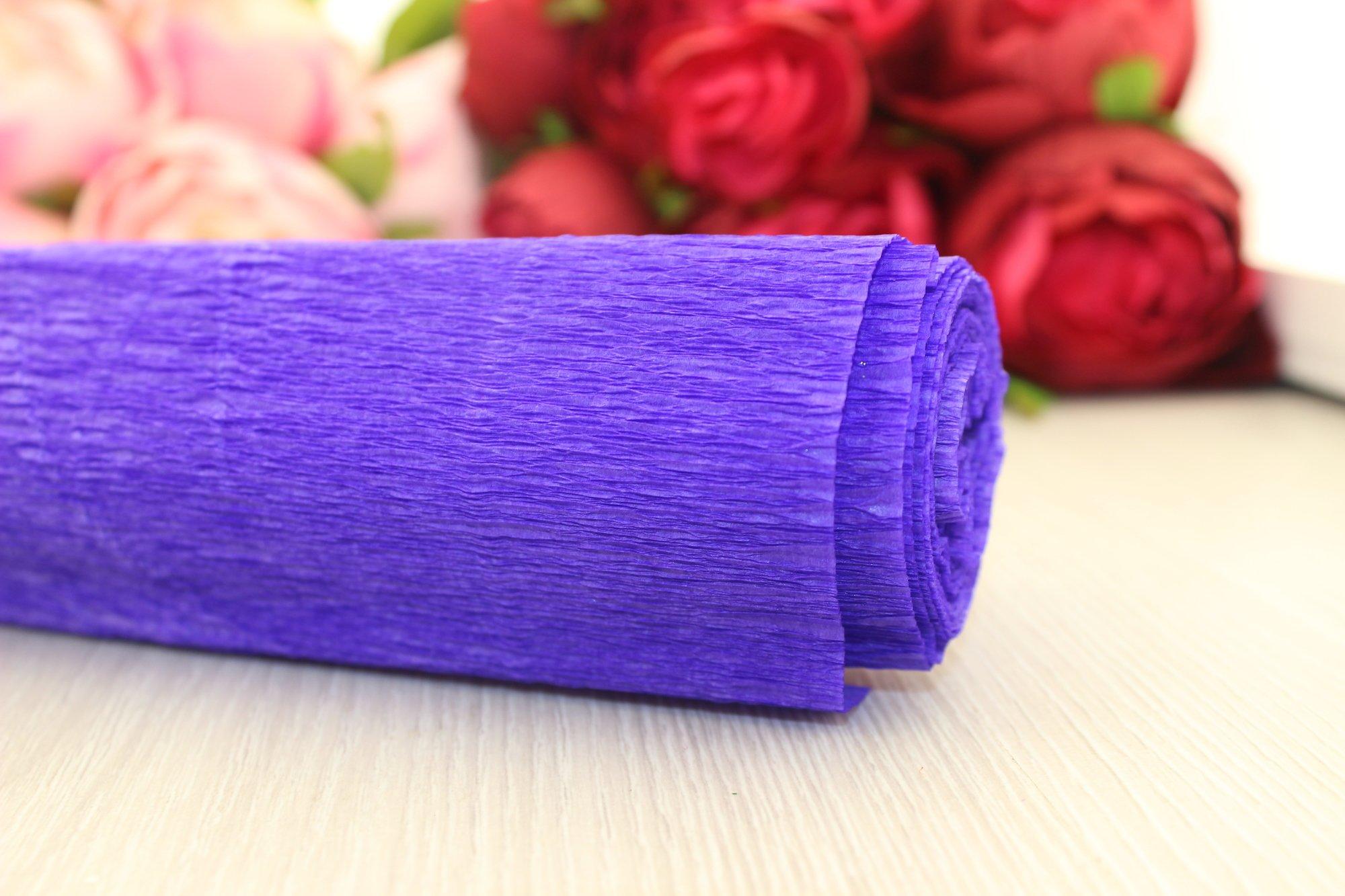 Гофрированная бумага во флористике