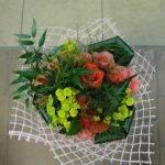 Флористическая сетка для оформления букета