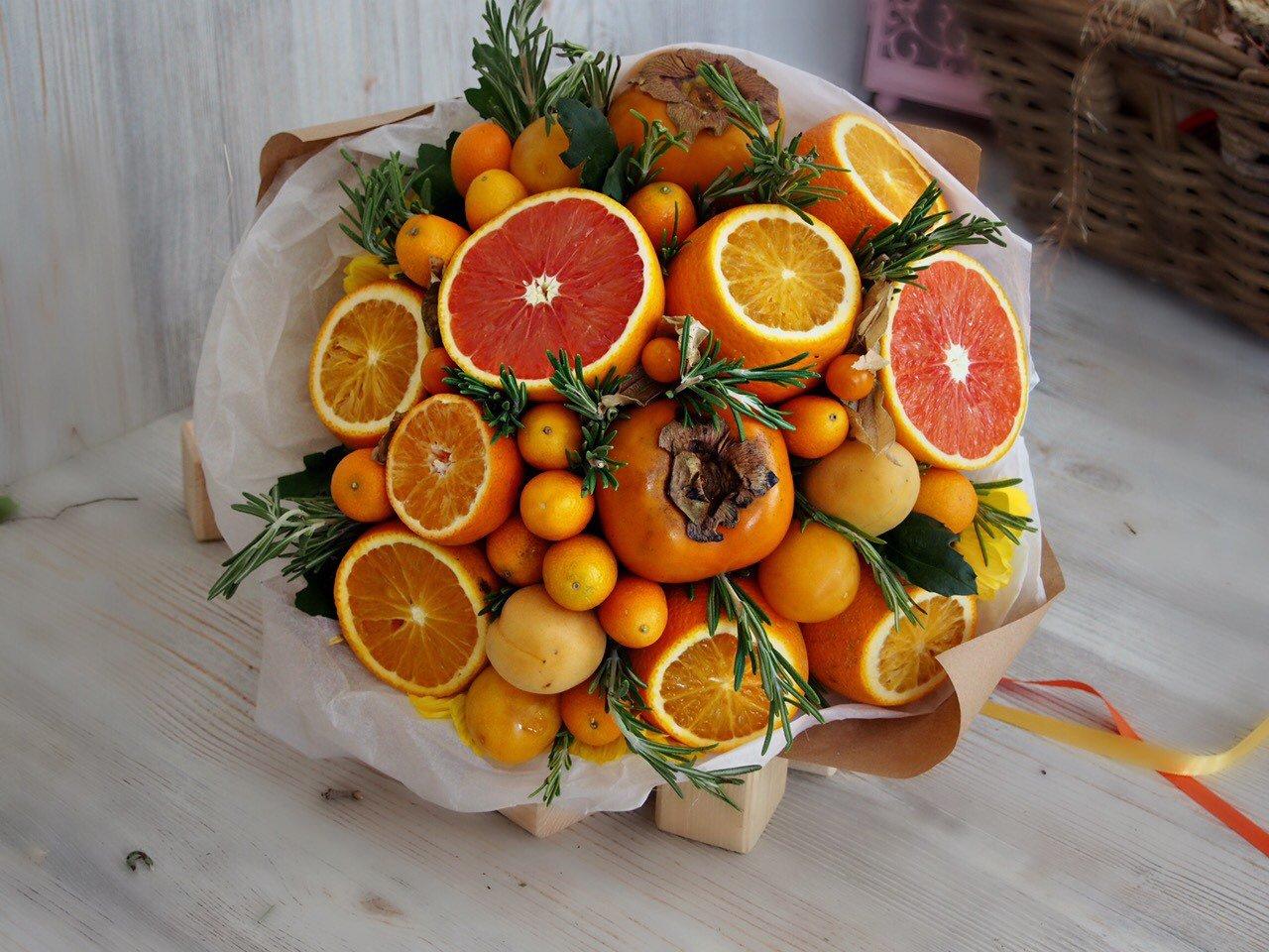 Букет из цитрусовых