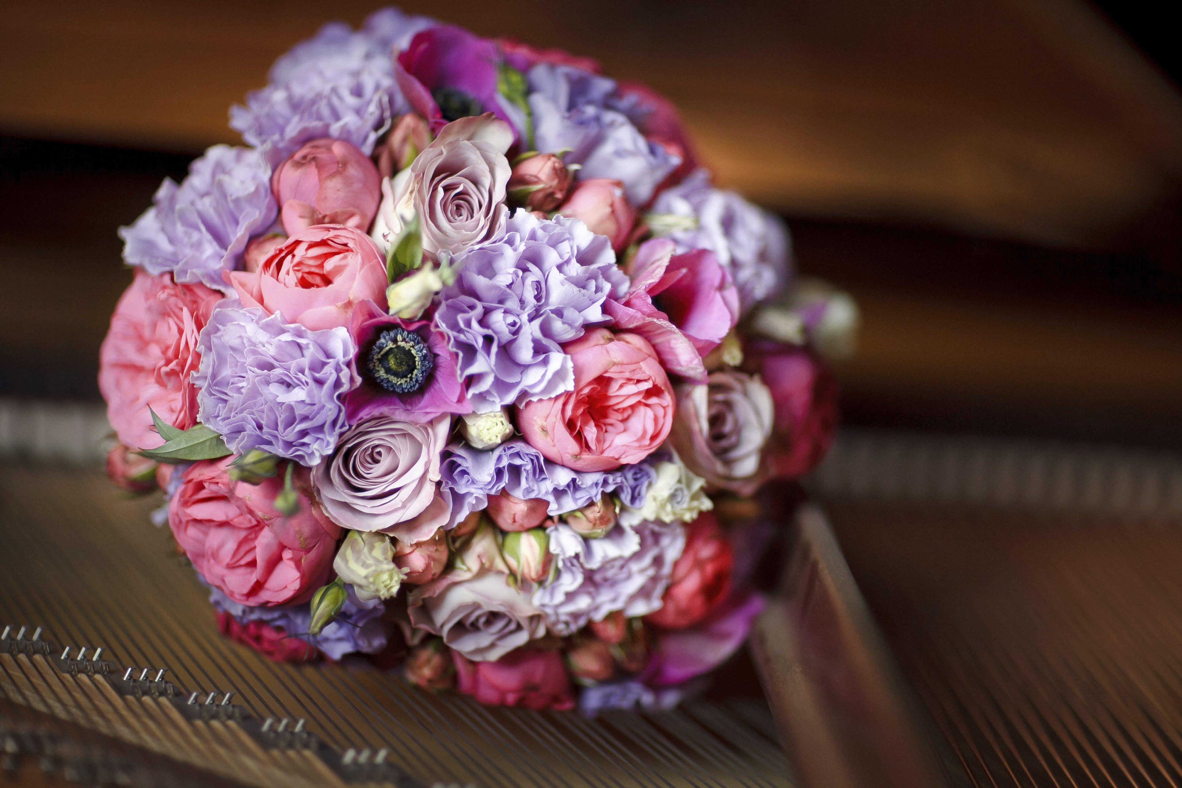 Невест фото, как сделать круговой букет
