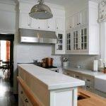 П-образная планировка на кухне