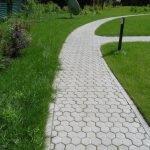 Тротуарная плитка чешуя